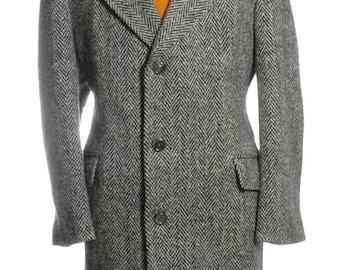 Vintage 1970's O'Beirne & Fitzgibbon Tweed Coat L - www.brickvintage.com