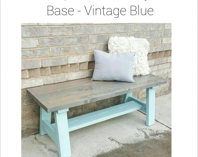 Wood Bench - Entryway Bench - Decorative Bench - Front Porch Bench - Dining Table Bench - Bench - Farmhouse Bench - Farmhouse decor