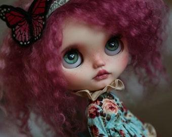 RESERVED - Valentina - custom Blythe Doll by Blue Butterfly Dolls