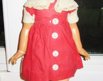 "1970 Ideal Toy Chrissy Cousin Velvet Grow Hair 15"" Doll"