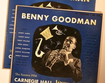 BENNY GOODMAN - 1938 Carnegie Hall Jazz Concert