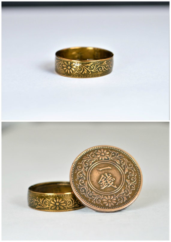 Bronze Ring Yellow Ring Japanese Ring Coin Ring Japanese. Heart Shape Rings. Gents Gold Rings. Strong Engagement Engagement Rings. Balinese Engagement Rings. Bridal Jewellery Engagement Rings. Lab Created Engagement Rings. Cent Diamond Engagement Rings. Cusion Wedding Rings