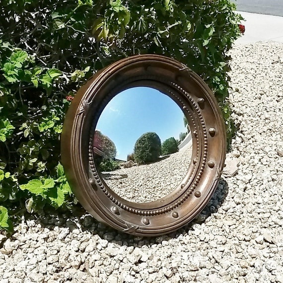 Convex mirror round mirror porthole mirror federal style for Porthole style mirror