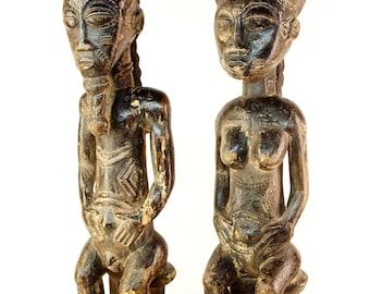 Pair of figures Baule | Ivory Coast