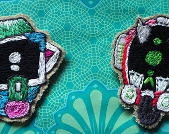 No Man's Sky Style Robot Patch (backless) [x2 available]