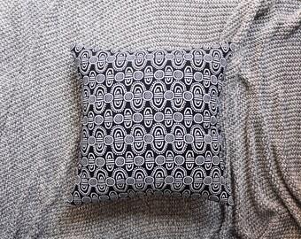 Black & White Tribal Cushion Cover, Throw Pillow Cover, Throw Cushion Cover, Decorative Cushion Cover, Decorative Pillow Cover - Indigenous
