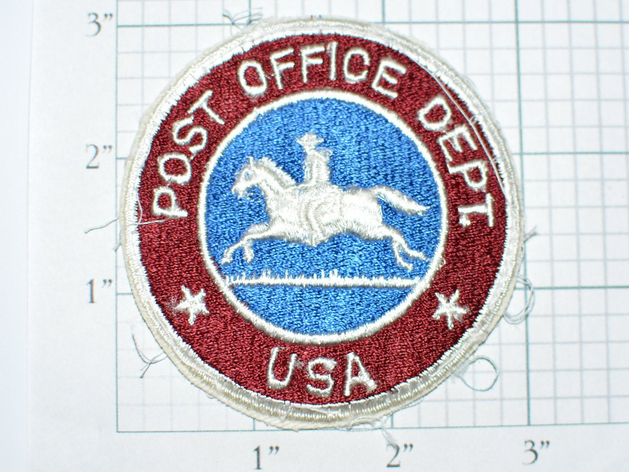 US Post Office Department Pony Express Logo Authentic ...