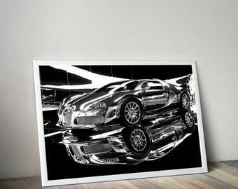 Supercars Etsy