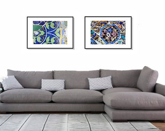 Photo wall art, Set of 2 Prints, Prints wall art, art prints set, Gallery Wall, Gallery Wall Prints, abstract wall art, Colorful print