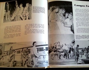 1955 North Phoenix high school yearbook
