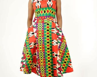 Zenab Kente Dress