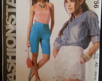Mc Call's Fashion Star 6756 - Misse's shorts sewing pattern - Size U.S. 6-14