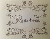 RESERVED for Jo