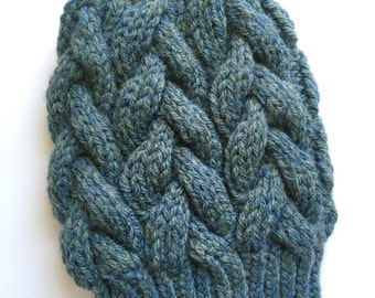 Nantucket braided cable hat