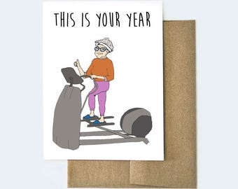 Birthday Card for Her | Card for old age | Best Friend Birthday Card | Old Age Birthday Card