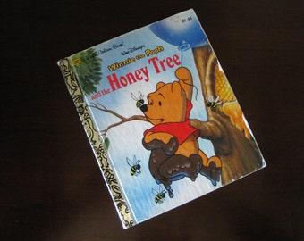 Winnie The Pooh and the Honey Tree – Vintage Children's Little Golden Book – Walt Disney - 101-63