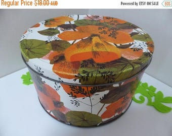 "Vintage ""FunKy"" storage tin made by Willow"