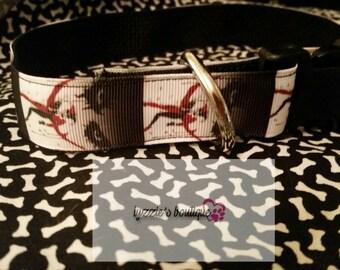 Joker & Harley Quinn Jester  Dog Collar