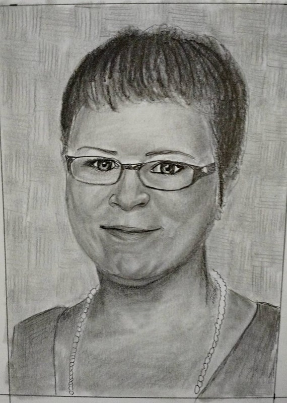 Custom portrait from your photo. 25% Sale! Your memories come to life again in Nica's exquisitely detailed portraits.