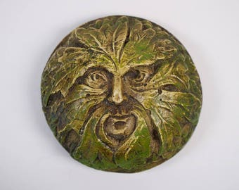 Vintage Green Man paper weight