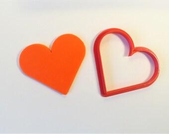 Heart Cookie Cutter, 3D print Cookie Cutter
