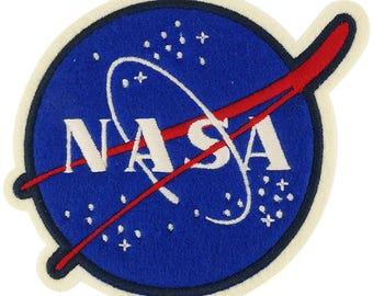 Officially Licensed NASA Insignia Emblem Oversized 5 Inch Felt Patch (U-PTC-NASA-02)