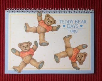 Vintage Mini Bears calendar