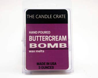 Buttercream Bomb Scented Soy Wax Melts