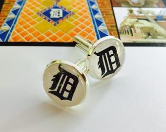 Detroit Tiger Cuff Links