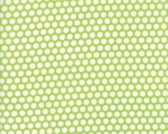 1 Yard Bonnie and Camille Basics by Moda -55023-34 Bliss Dot Green