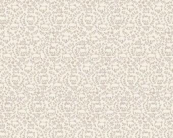 SALE!! 1 Yard Golidlocks by Jill Howarth for Riley Blake Designs- 5713 Cream Bears