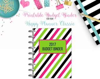 LAST CHANCE: Budget Binder Bundle - 22 Printable Page Inserts for your Happy Planner Classic - Instant Download