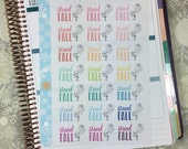 Stand Tall Stickers! 1 punched sheet, for your Erin Condren Life Planner, Plum Planner,  Filoflax, calendar