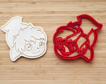 Ponyo cookie cutter. Ponyo on the Cliff by the Sea.
