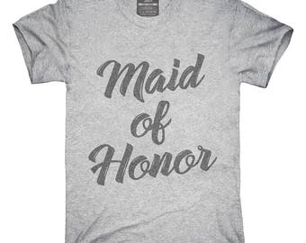Maid Of Honor T-Shirt, Hoodie, Tank Top, Gifts