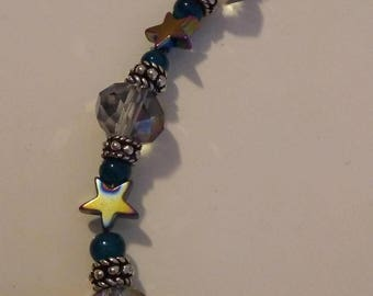 "6"" Hemitite Stars Bracelet"
