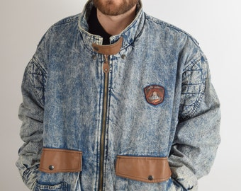 Vintage Denim Thick Jacket 90's (1926)