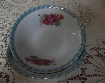 Lusterware cereal bowls