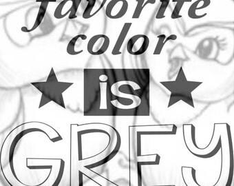 fav. color grey, all 50 shades SVG