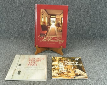 Set Of 3 Colonial Williamsburg Photography Books