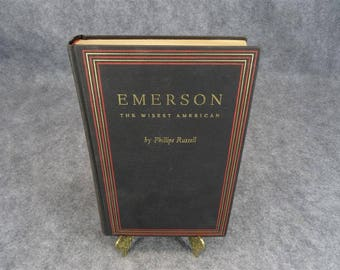 Emerson The Wisest American by Phillips Russell 1929