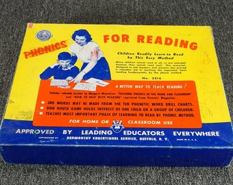 Vintage Schoolcraft Phonics For Reading No. 2216