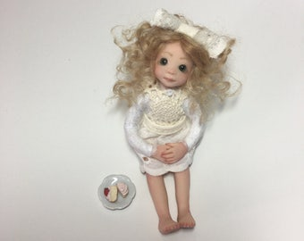 Sweet Strawberry Doll - OOAK
