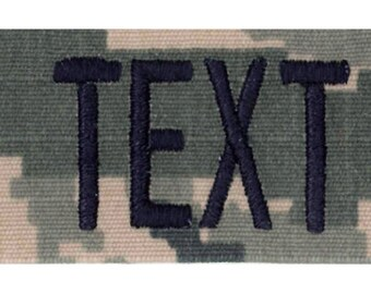 Personalized Military and Tactical Name Tapes! Made in the USA! 24 HOUR SHIP!