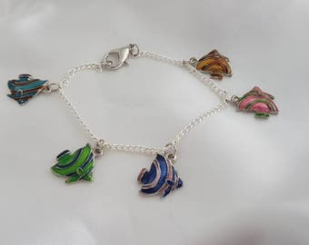 Diversity of fish bracelet