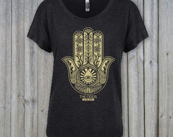 Hamsa Women's Dolman T-Shirt - The ODDS Apparel