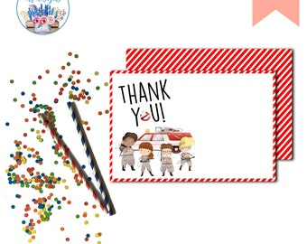 Ghostbusters Thank You Note, Ghostbusters, Ghostbusters Girls Birthday Party