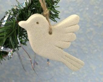 DIY Bird personalized christmas tree ornaments Craft supplies Hand painted ornament Wedding garland Wall hanging decor Nursery decor