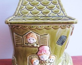 Vintage Made In Japan Cookie Jar