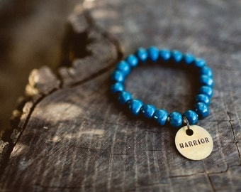 Deep Sea Blue Bracelet/Warrior